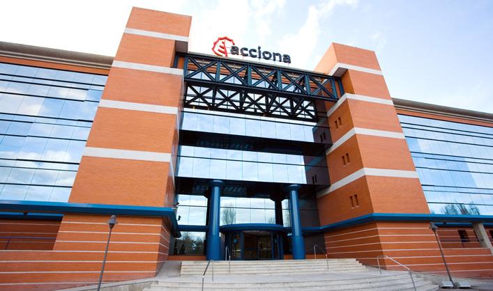 ACCIONA's main building in Madrid