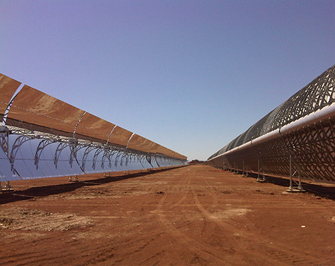 Orellana Solar Thermal Plant