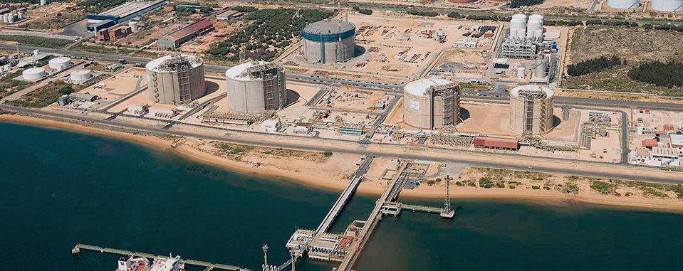 Palos de la Frontera LNG Storage Tanks