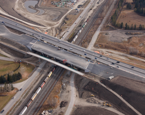 Nose Hill Interchange