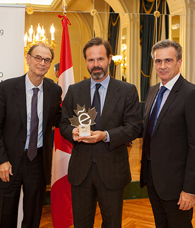 ACCIONA named Company of the year 2013 by Canada-Spain Chamber of Commerce