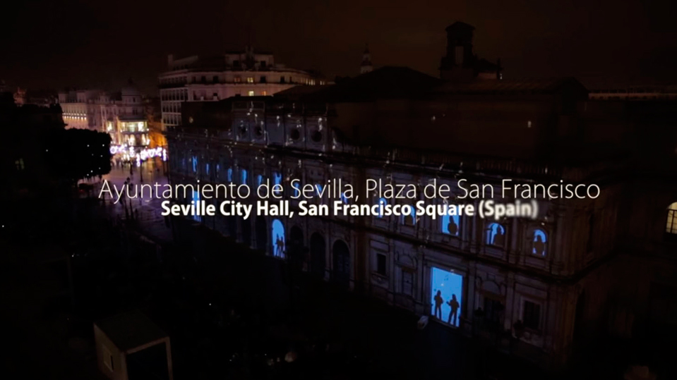 "APD brings the ""The Spirit of Christmas"" to Seville, Spain"