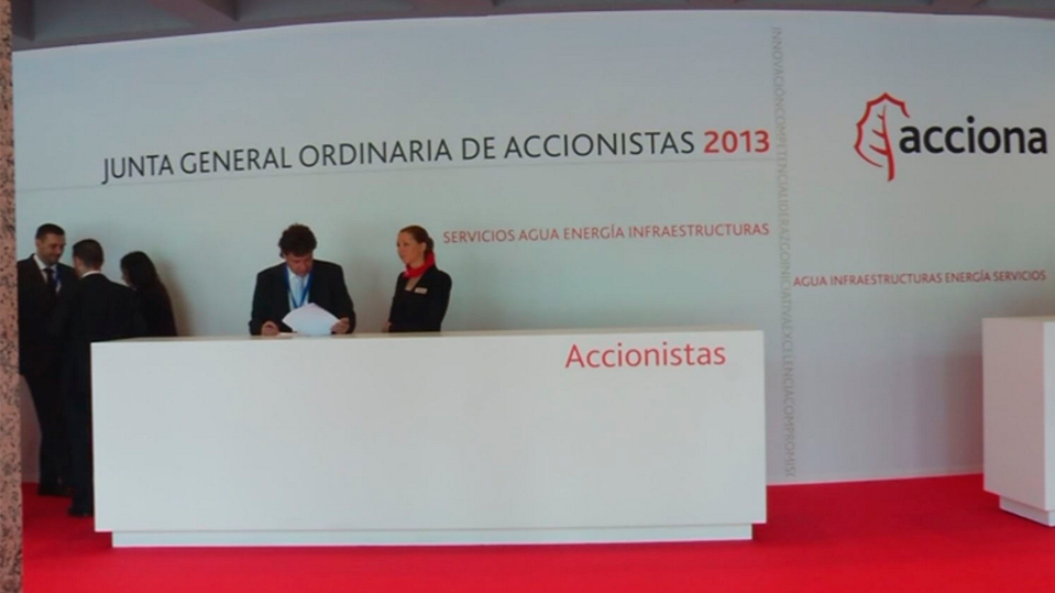 ACCIONA holds its annual General Shareholders' Meeting 2013, a carbon-neutral event