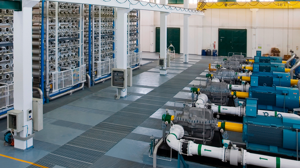 Javea desalination plant