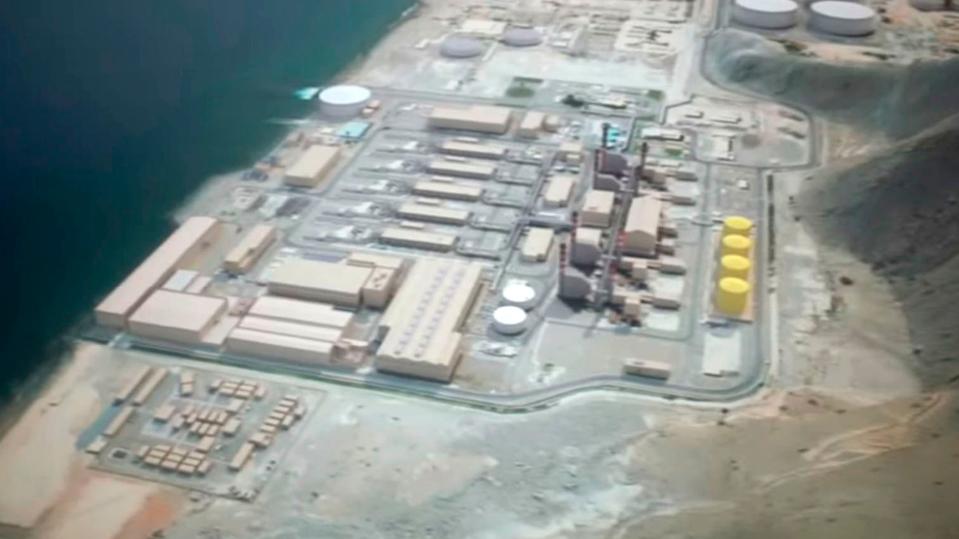 Fujairah Desalination Plant, UAE