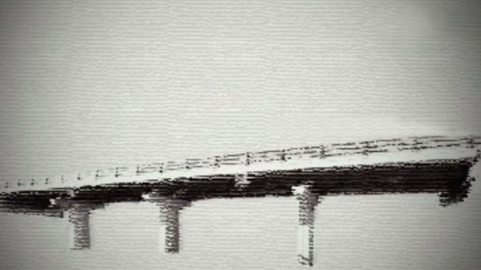 Carbon fiber bridge in Asturias, Spain
