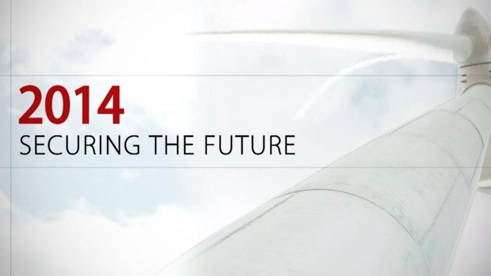 ACCIONA Energía 2014: Securing the future