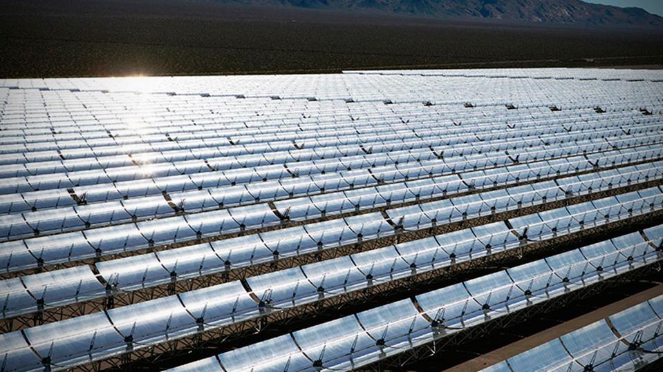 Nevada Solar One CSP plant