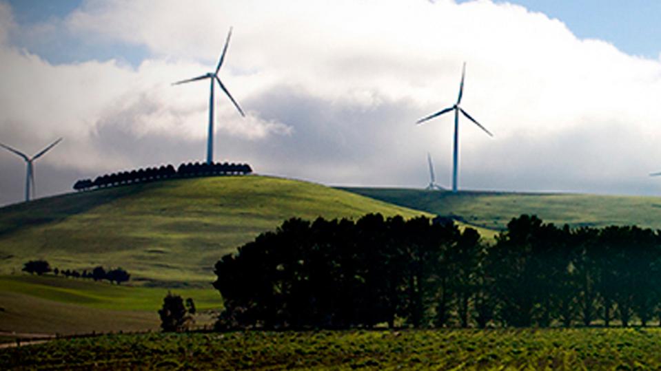 ACCIONA's Waubra windpark in Victoria (Australia)