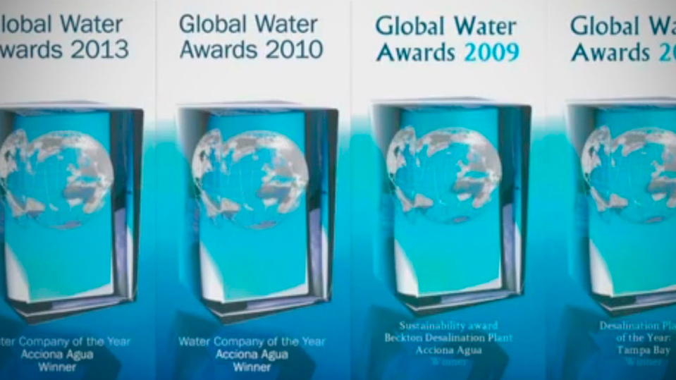 ACCIONA Agua named Water Company of the Year by GWI