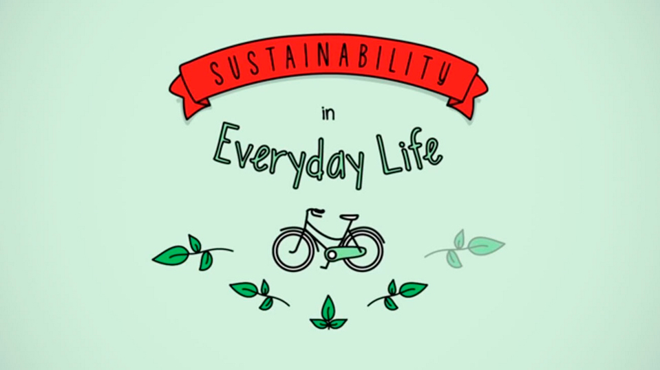 Sustainability in our day to day