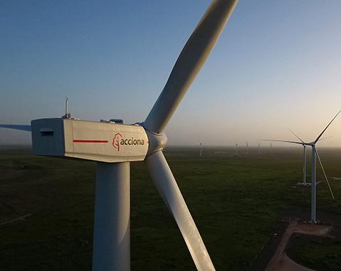 ACCIONA Energía inicia la operación comercial del parque eólico de San Román, en el sur de Texas