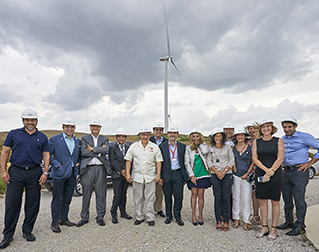 DELEGATION FROM TEXAS VISITS ACCIONA RENEWABLE ENERGY FACILITIES IN SPAIN