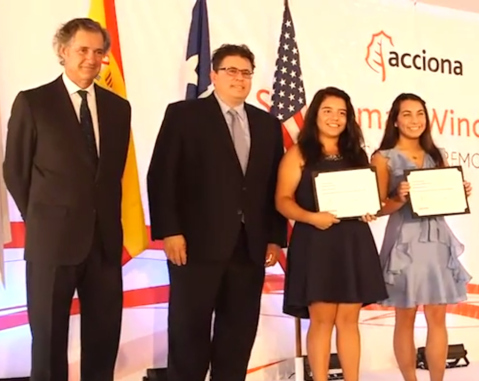 ACCIONA announces 10 winners of 2018 scholarship awards